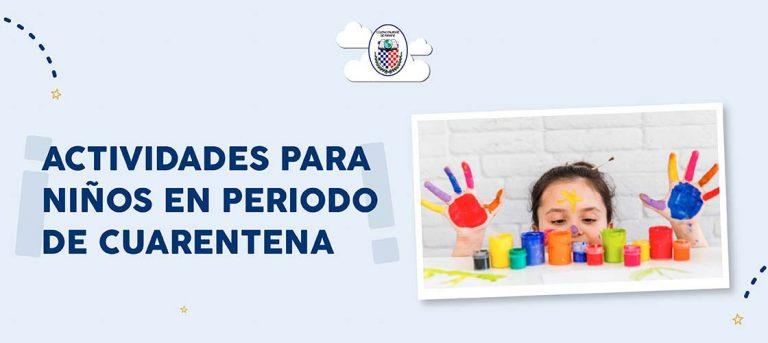 Actividades para niños en período de cuarentena