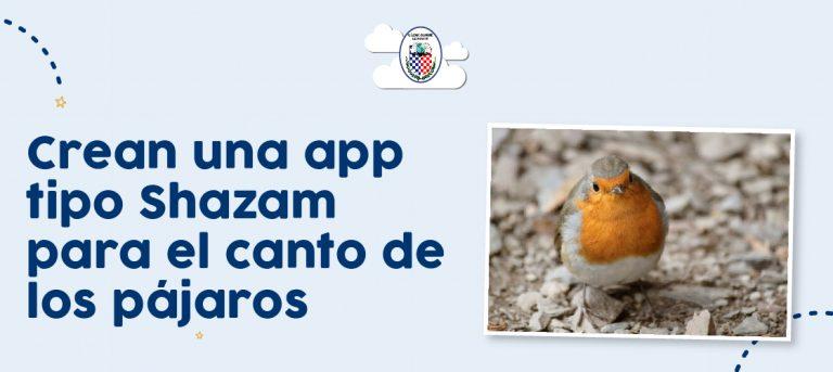 Crean una app tipo Shazam para el canto de los pájaros